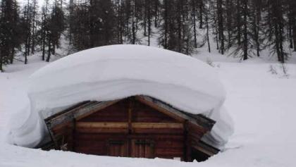 Unner Flesche im Schneewinter 2009