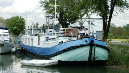 Idylle am «port de plaisance» von Kembs
