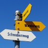 Beschilderung «Schwabenweg»