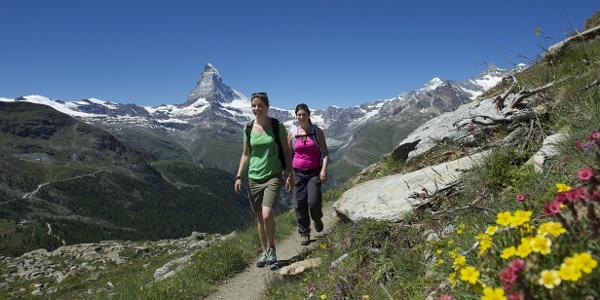 Faire une randonnée autour du peak Rothorn