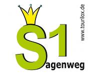 Routenlogo Sagenweg 1; Loxstedt