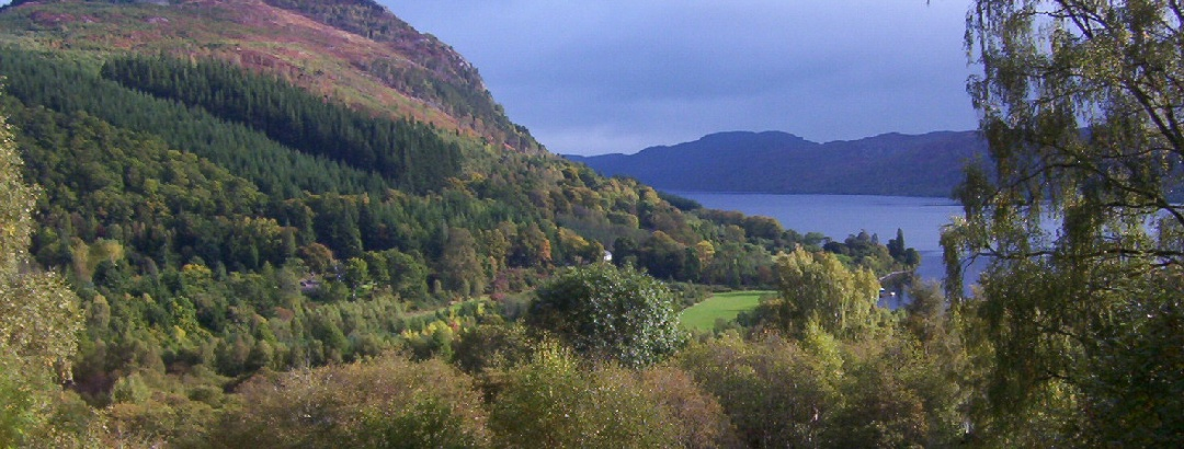 Approaching Invermoriston