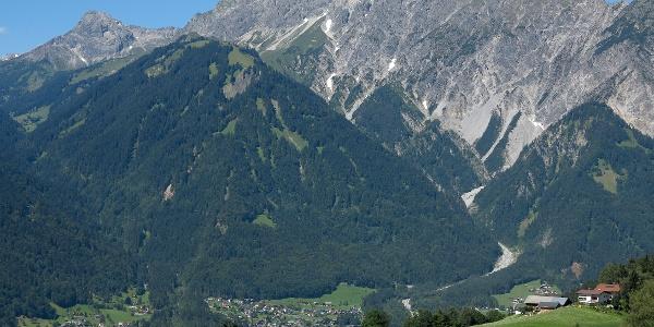 Zimba und Vandanser Steinwand.