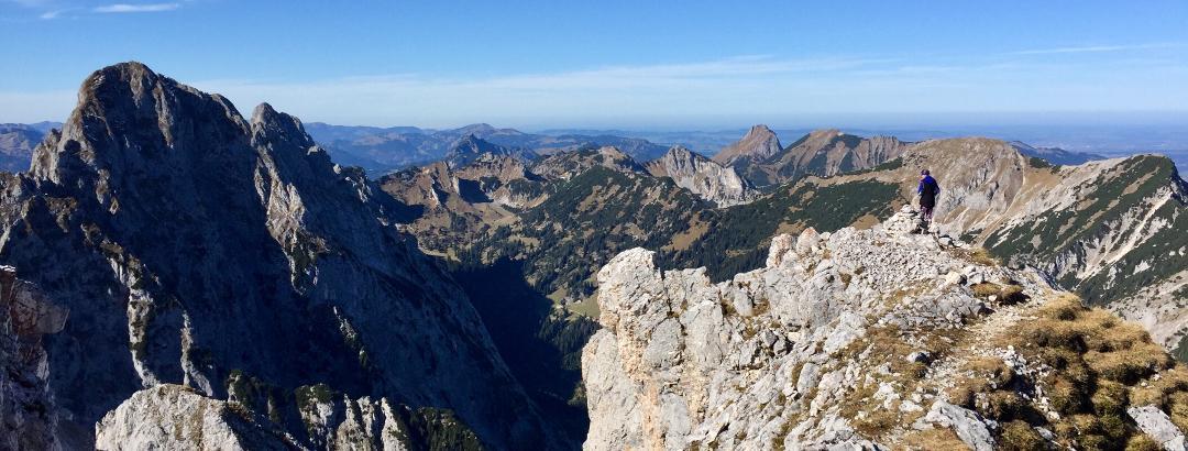 Gipfelpanorama (West)