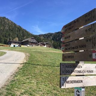 Escursione Oberstall