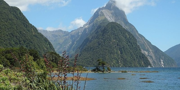 Mitre Peak, Milford Sound's highest point