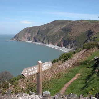 Between Porlock and Lynmouth