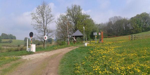Grenzübergang Untergrafenried bei Waldmünchen