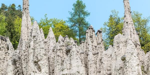Erdpyramiden in Unterinn am Ritten