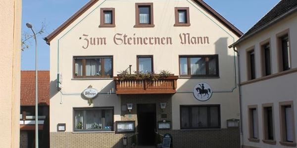 """Gasthaus """"Zum Steinernen Mann"""", Ansicht 1"""