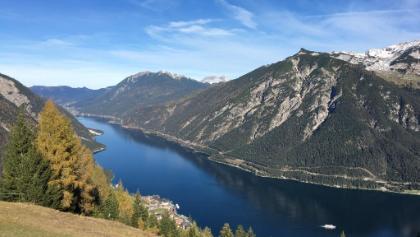 Blick vom Zwölferkopf auf den Achensee