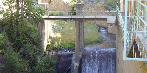 An der Brücke über den Río Poqueira