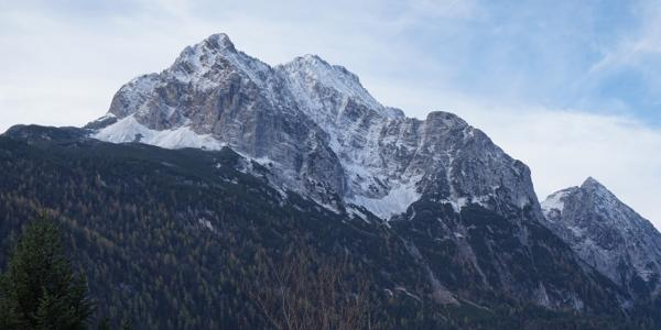 Wettersteinspitze im Abstieg