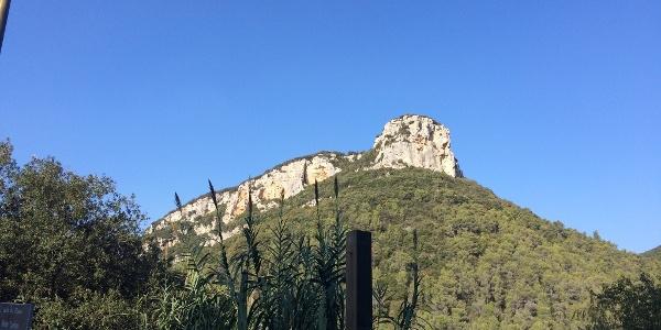 Grandioser Blick auf den Monte Corno