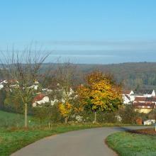 Blick auf Schmittweiler