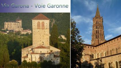 Via Garona (GR861) de Toulouse à Saint-Bertrand de Comminges