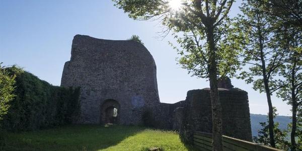 Ruine Michelsburg, Ansicht 1