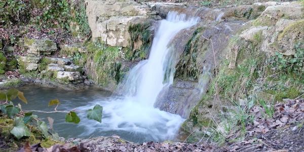 Wasserfall beim Höllhaken