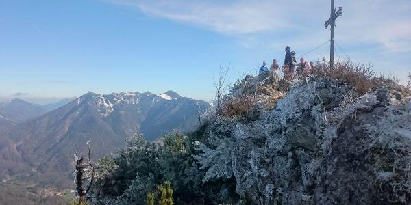 Nordseite des Gipfels des Spitzsteins