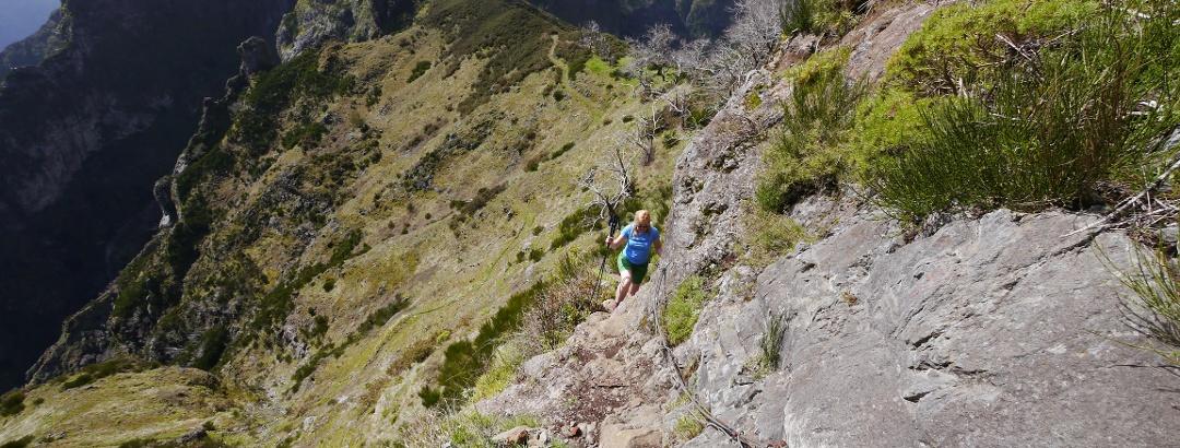 Besteigung des Pico Grande, Madeira