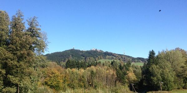 Hohen Peissenberg in the distance