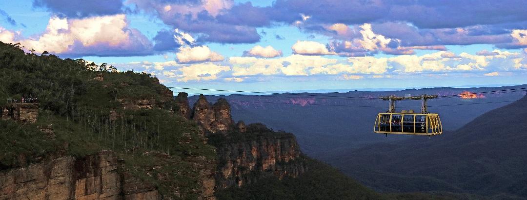 Die Three Sisters in den australischen Blue Mountains
