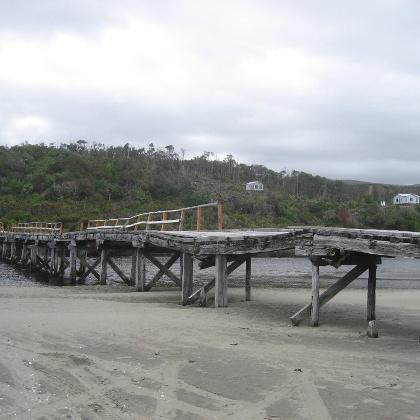 Brücke über den Rio Denal