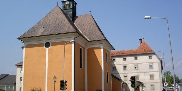 Josefskirche Voitsberg_Außensicht_Straße