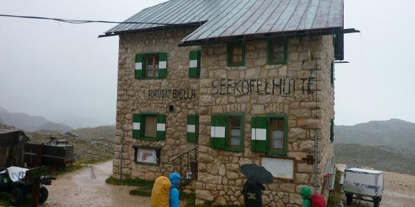 Seekofelhütte 2325 m.