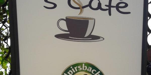 Bild 1: Lichtreklame s'Café