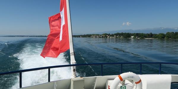 Den Ausflug kann man mit einer Schiffsfahrt verbinden.