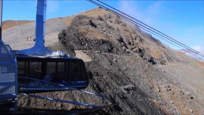 téléphérique Grimentz - Sorebois aerial cable car
