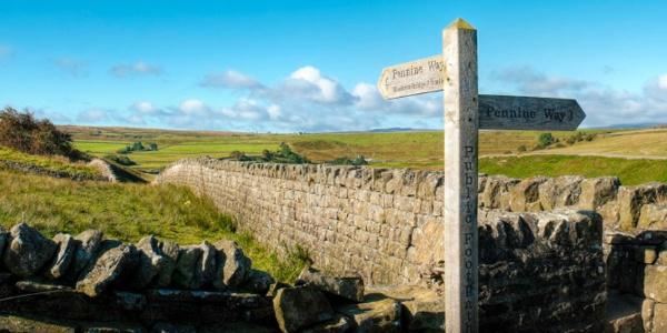 Teesdale Pennine Way Sign