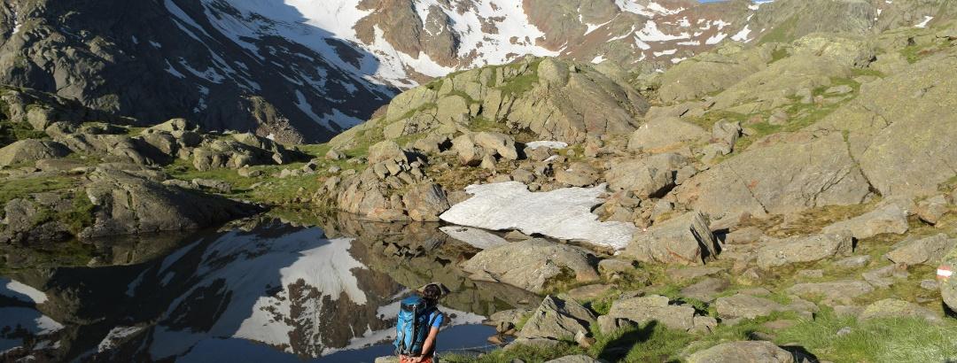 Bei der Bremer Hütte, Blick zum Pflerscher Hochjoch