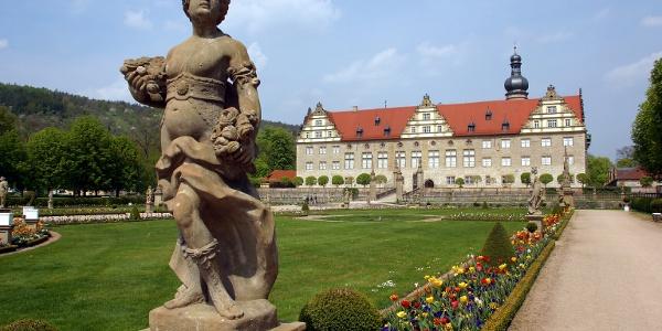 Schloss und Schlosspark von Weikersheim
