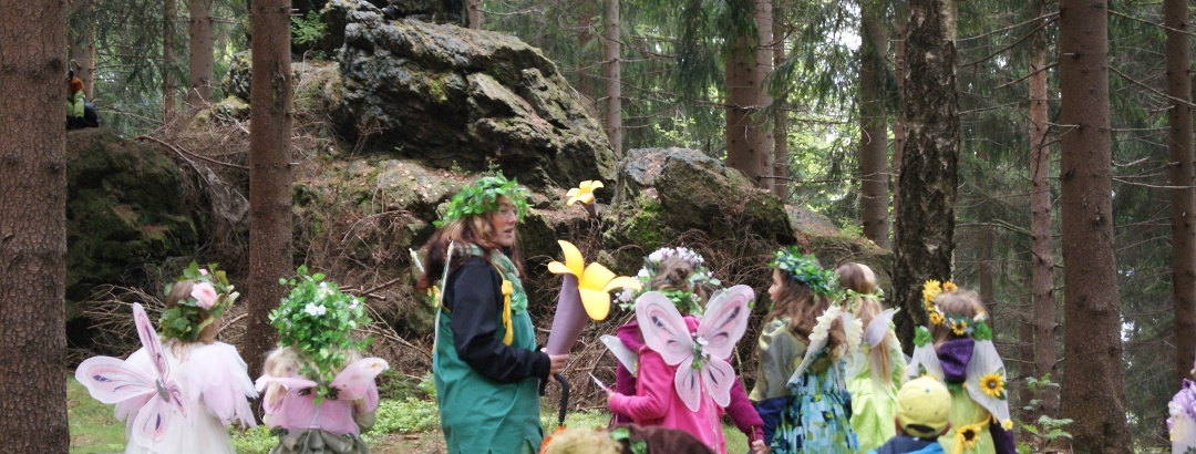 Wanderungen für Kinder mit Elfen