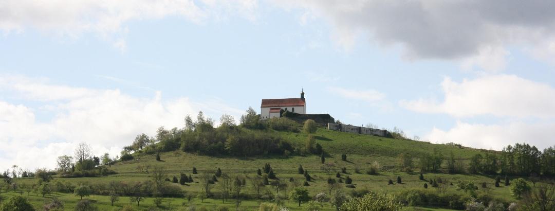 Die Wurmlinger Kapelle ist das Wahrzeichen des Landkreises Tübingen