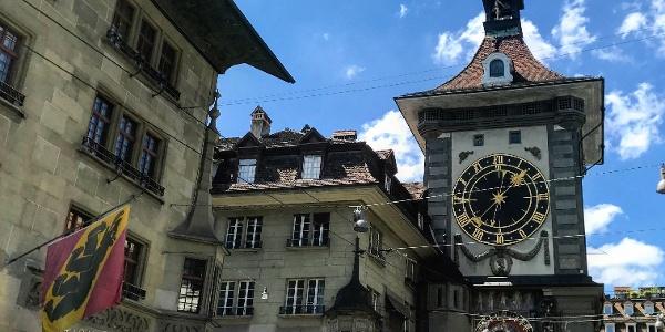 Zytglogge (Zeitglockenturm).