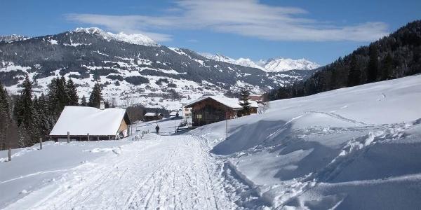 Winterwanderung im Gauertal