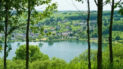 Schalkenmehrener Maar_Vulkaneifel-Pfad: Vulcano-Pfad Schleife West