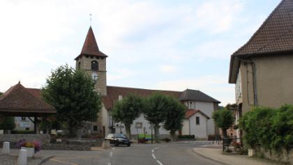 L'église du Pin en Isère