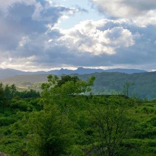 View of Peaks near Rosthwaite