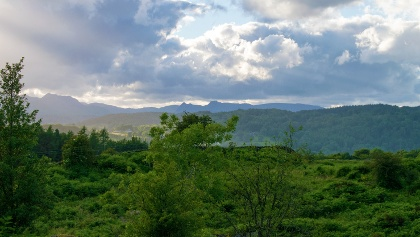 View of Peaks near Rosthwaite