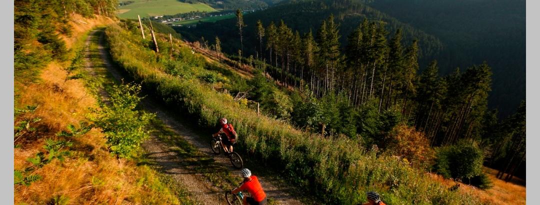 Mountainbiken in Hessen