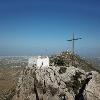 Kirche Afendis Christos auf dem gleichnamigen Gipfel des Giouchtas
