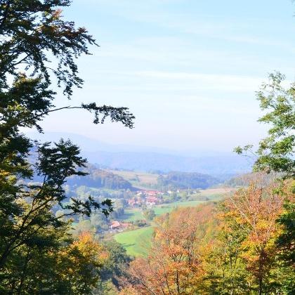 Blick von Altenstein nach Asbach