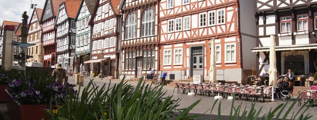 Fachwerkhäuser in Fritzlar