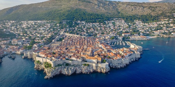 Dubrovnic from above