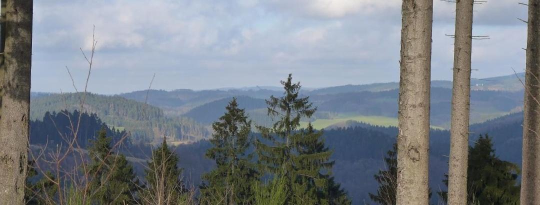 Blick in Richtung Meinerzhagen