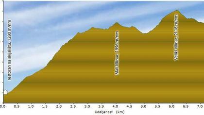Mountain Čabulja, Veliki Vilinac